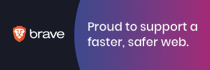 Proud to support the Brave Browser