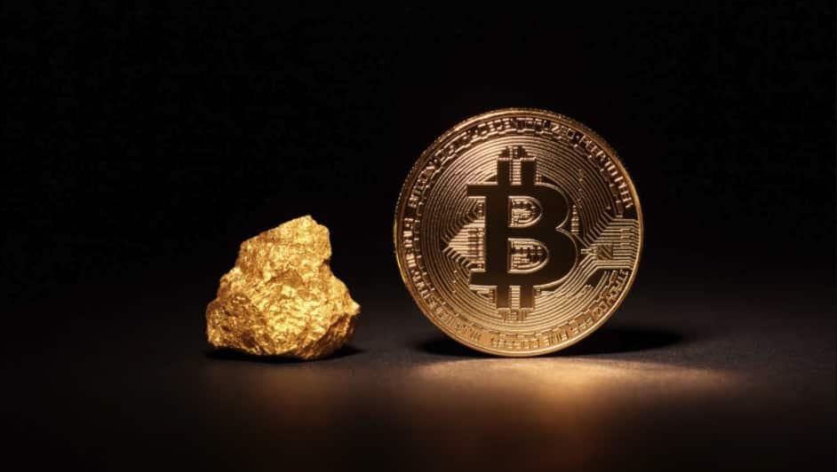 Bitcoin-Gold-stock-market-silver