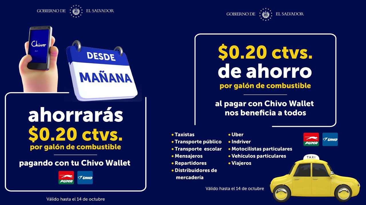 Salvadoran President Nayib Bukele Says Citizens Paying for Gas With the Chivo Wallet Will Get a Discount